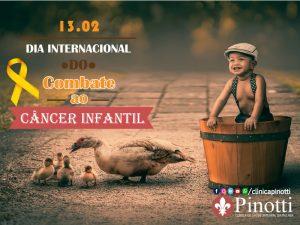 Dia Internacional do Cancer Infantil - 15-02